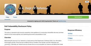 DOD Vulnerability Disclosure Program Spikes Up in Demand